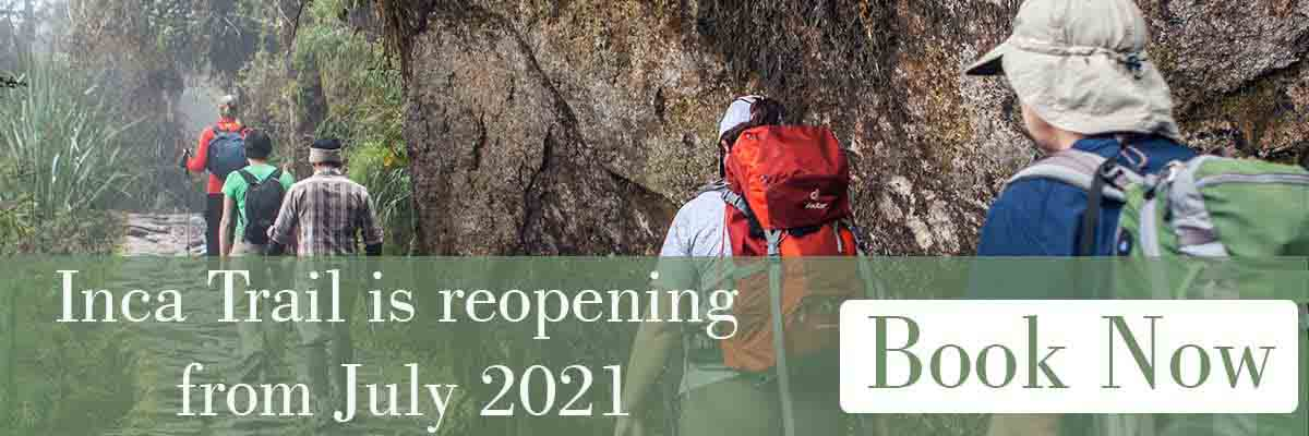 4 Day Inca Trail is reopening on July