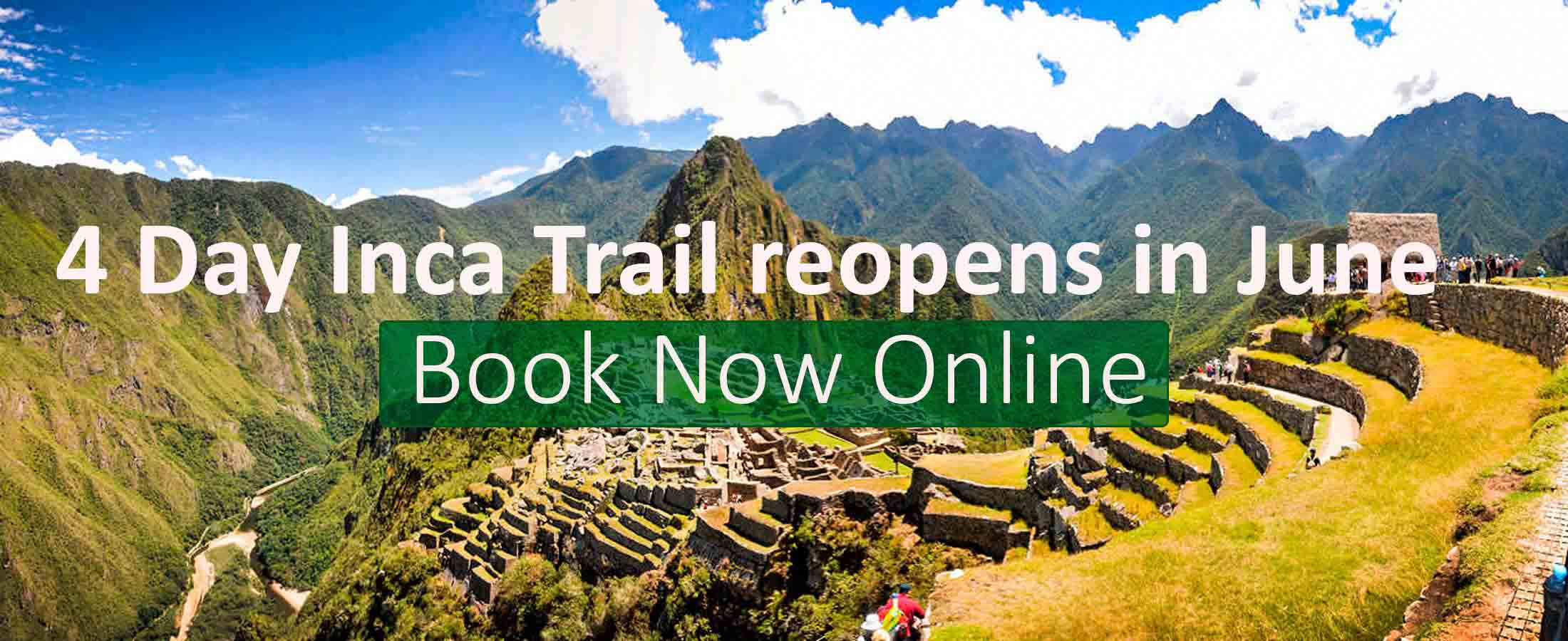 4 Day Inca Trail reopens in June 2021