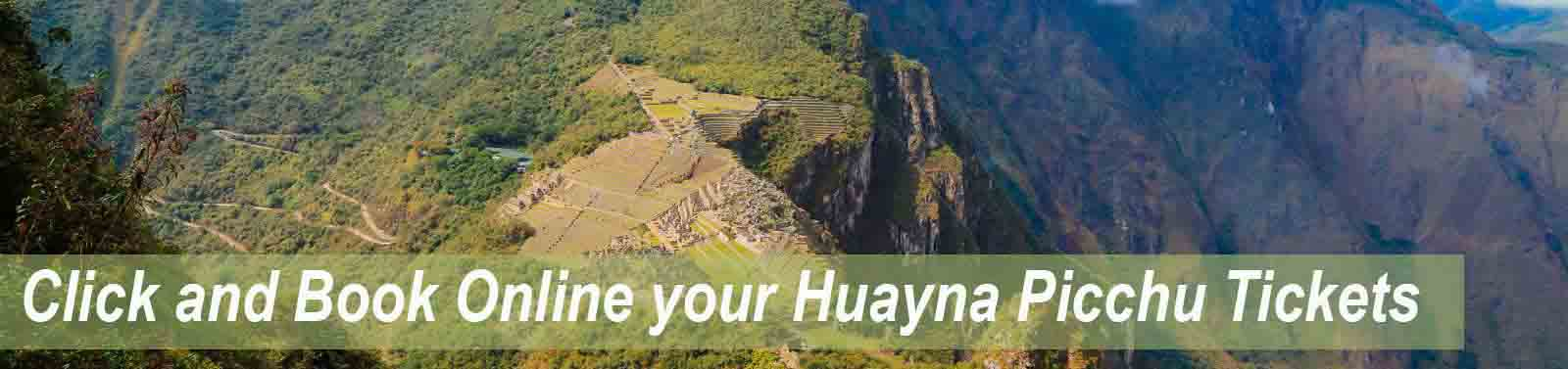 Book Online the Huayna Picchu tickets