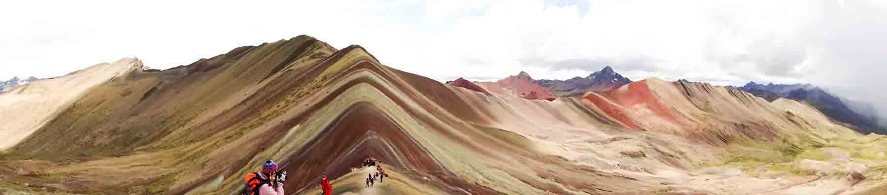 How was Rainbow Mountain formed
