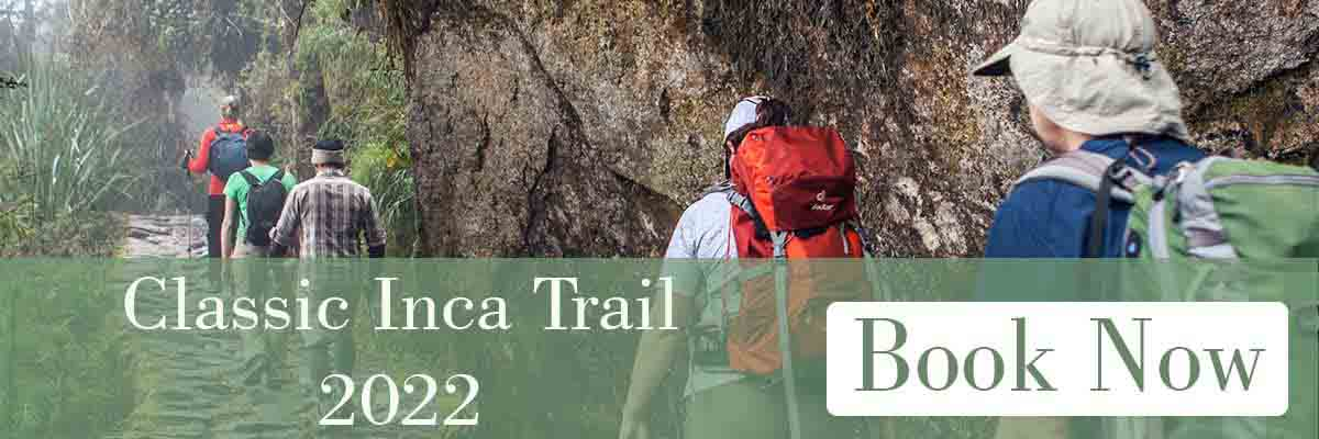 Inca Trail Tours 2022