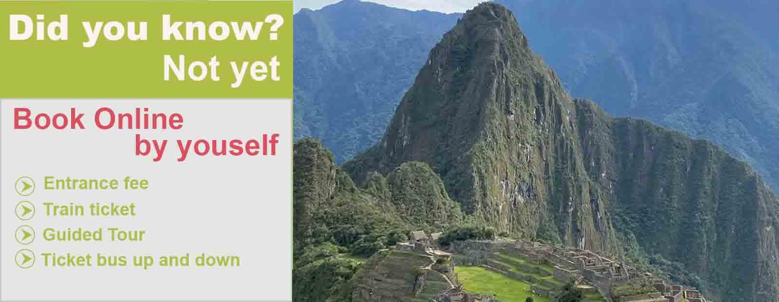 Machu Picchu train tickets 2021
