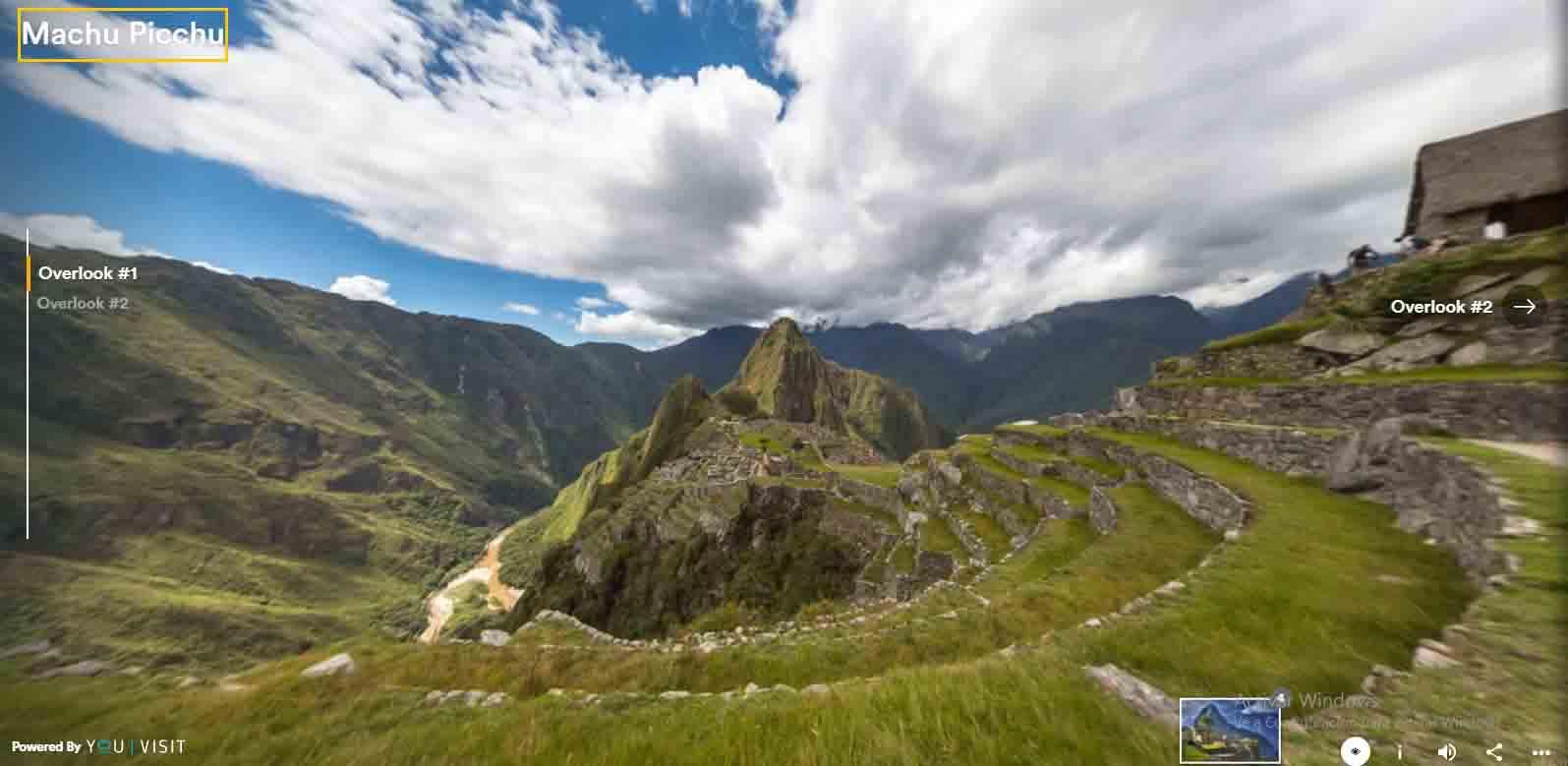Virtual Tours of Machu Picchu