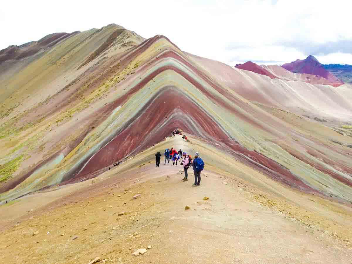 Rainbow Mountain Peru Geology