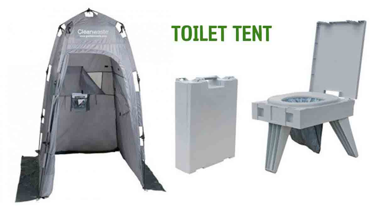 Toilet-Tents